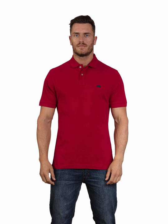 Raging Bull - Big & Tall - Signature Polo Shirt - Red