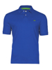 high quality cobalt blue polo shirt