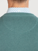 Raging Bull Crew Neck Cotton Cashmere Knit - Forest