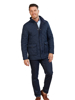 Raging Bull Signature Quilted Field Jacket - Navy