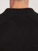 Raging Bull Big & Tall Chunky Rib Knit Cardigan - Black