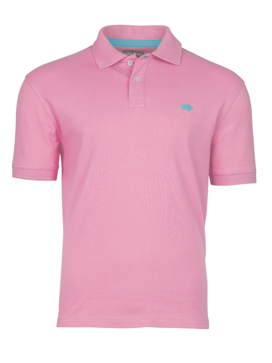 Raging Bull Signature Polo Shirt - Pink