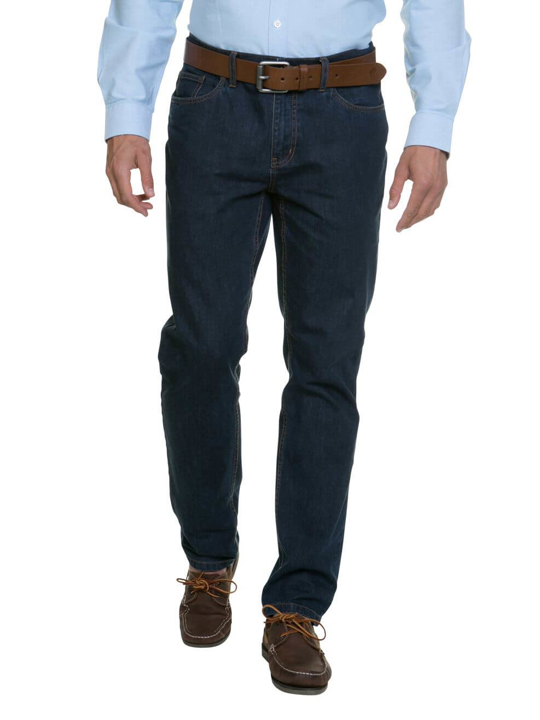 Raging Bull - Tapered Jeans - Dark Denim