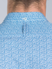 Raging Bull Big & Tall - Long Sleeve Micro Leaf Shirt - Cobalt