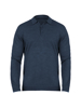 Raging Bull Long Sleeve Signature Knitted Polo - Navy