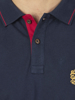 Raging Bull Big & Tall Crest Pique Polo - Navy
