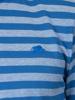 Raging Bull Big & Tall Birdseye Stripe Polo - Cobalt Blue