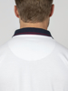 Raging Bull Big & Tall Cut & Sew Pique Polo - White