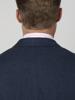 Raging Bull Big & Tall Herringbone Linen Blazer - Navy
