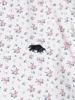 Raging Bull Short Sleeve Micro Rose Print Shirt - Pink