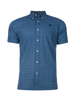 Raging Bull Short Sleeve Lavender Print Shirt - Navy