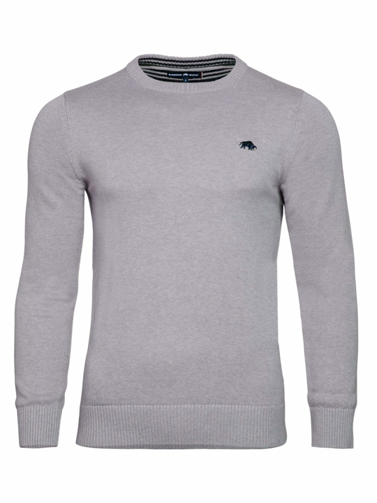 Raging Bull Signature Lightweight Crew Neck - Grey
